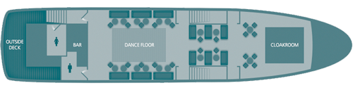 Upper Lounge Floorplan